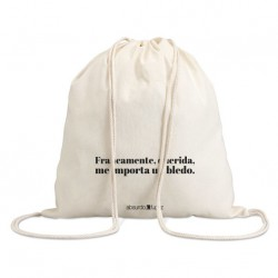 "Bolsa saco ""un bledo"""
