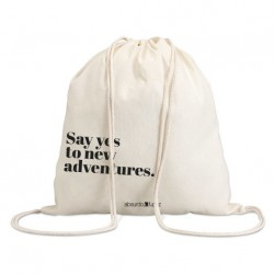 "Bolsa saco ""say yes"""
