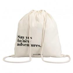 "Bolsa saco ""say yes"""